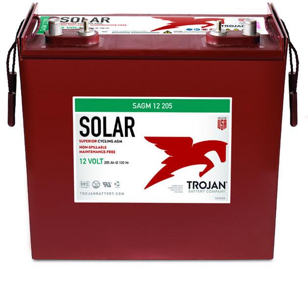 Trojan-Solar-AGM-12V-205Ah-SAGM-12-205